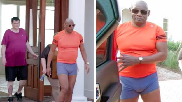 The Chaser's Road Trip Fans Go Wild For Shaun Wallace In A Tiny Pair Of Tight Trunks