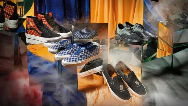 The First Look At The Harry Potter x Vans Collab Is Here And It Looks Magical