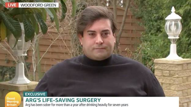 "Good Morning Britain: James 'Arg' Argent Says His Weight ""Could Be Fatal"""