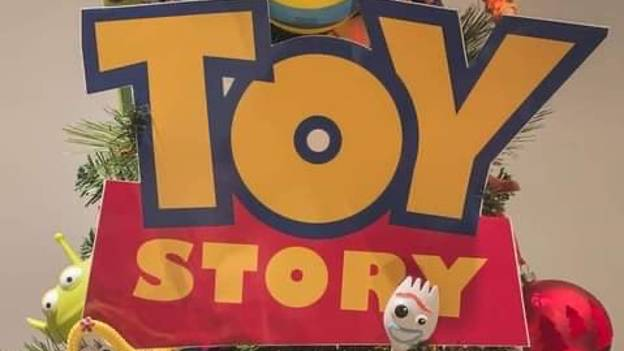 Pixar Fans Are Going Wild Over Family's Incredible Toy Story Christmas Tree