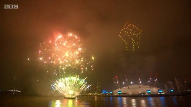 BBC Hit With 500 Complaints Over Black Lives Matter Tribute In NYE Firework Display