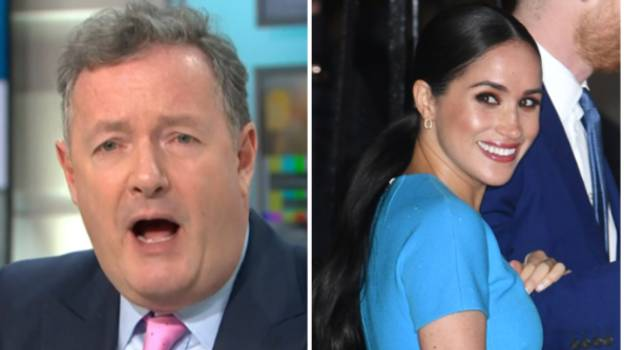 Good Morning Britain Slammed As Four White Men Join Piers Morgan On Panel To Debate Meghan Markle's Character