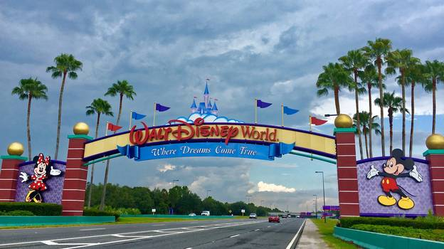 Woman Escorted From Walt Disney World Resort Florida For Wearing 'Inappropriate' Top