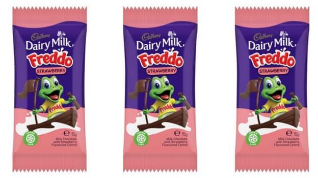 Strawberry Freddos Finally Launch In The UK