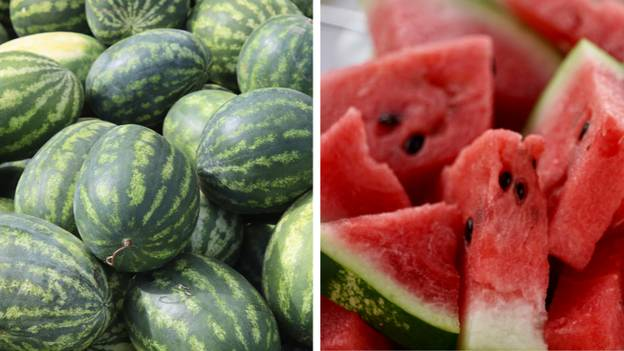 People Are Mind Blown After Woman Washes Watermelon