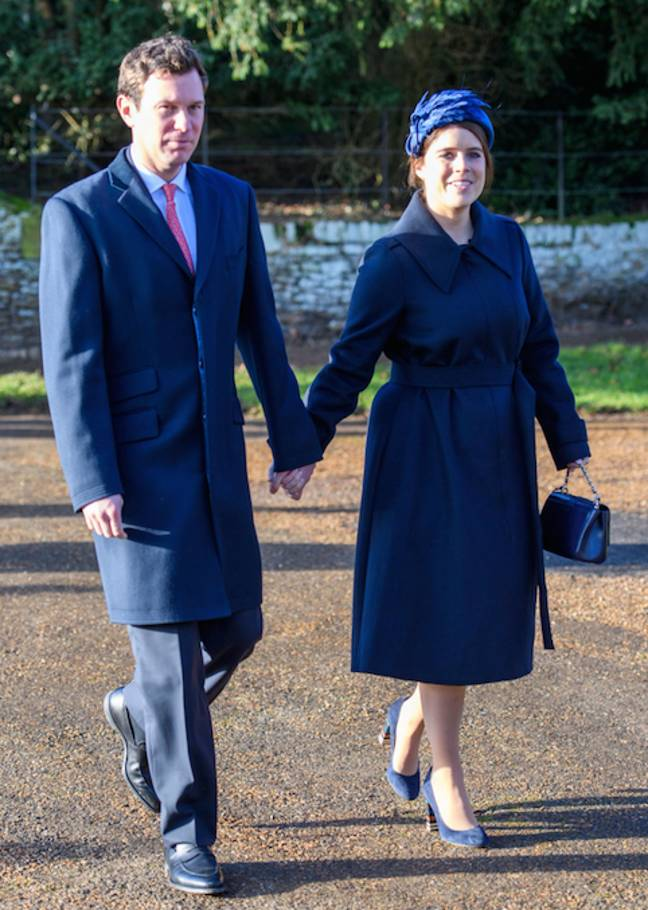 The Queen's granddaughter welcomed her first baby on 9th February (Credit: Shutterstock)
