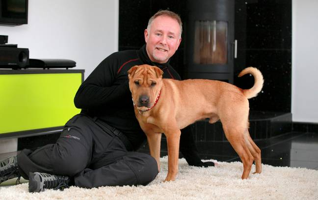 New owner Russell says Kai loves a bit of pampering (Credit: SWNS)