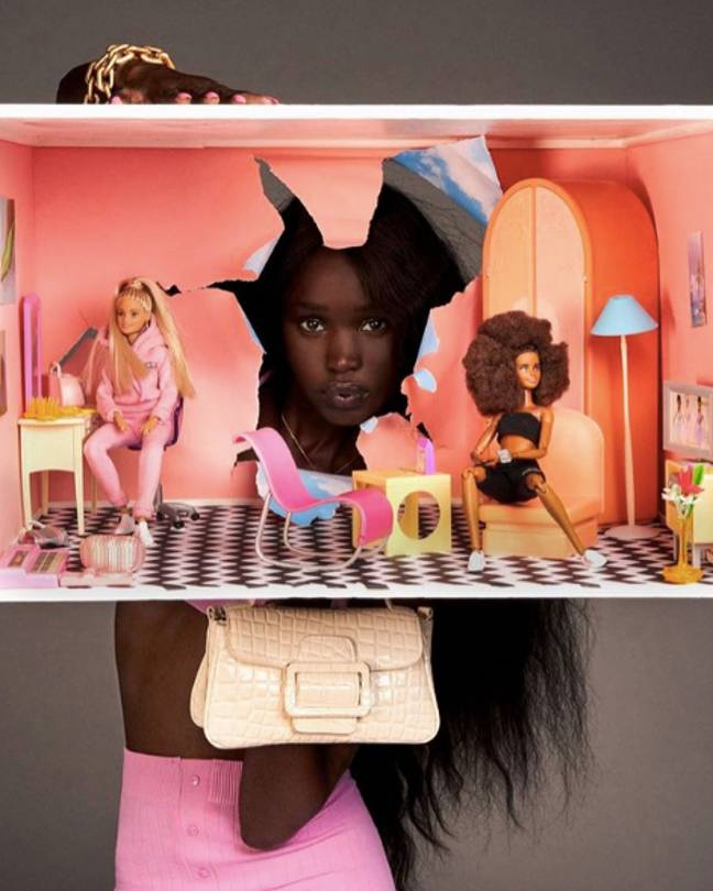 Zara is also selling Barbie dolls as part of the collection (Credit: Zara)