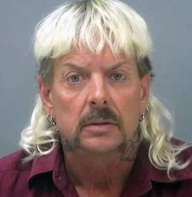 The series focuses on Joe Exotic who was arrested for a murder for hire plot (Credit: Santa Rosa County Jail)
