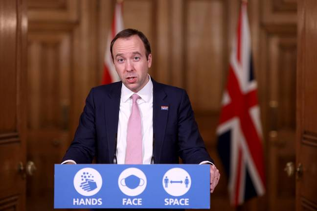 Heath Secretary Matt Hancock (Credit: PA)