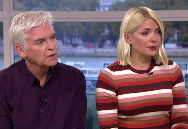 Holly asked Eva if she could ever move on and if there's hope for other sufferers. (Credit: This Morning/ITV)
