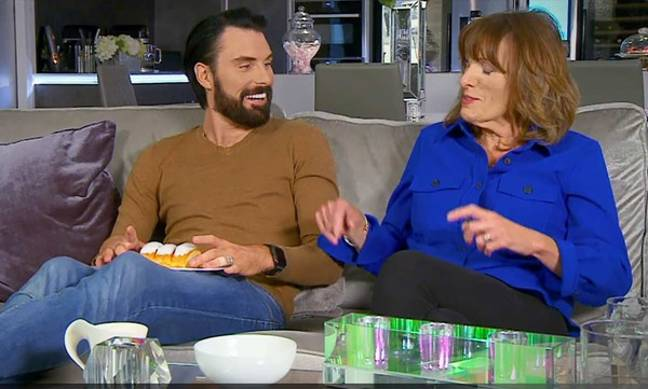 Rylan was with his mum Linda (Credit: Channel 4)