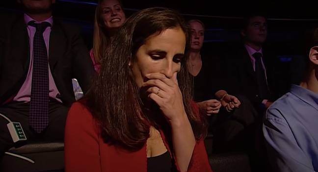 The episode includes key moments such as when Diana Ingram coughed in the audience (Credit: ITV)