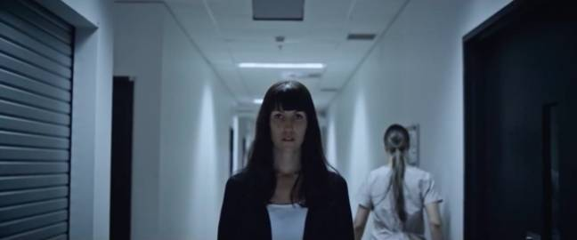 Surgeon Amy struggles with her work and family life in this new horror film (Credit: 4Digital Media)