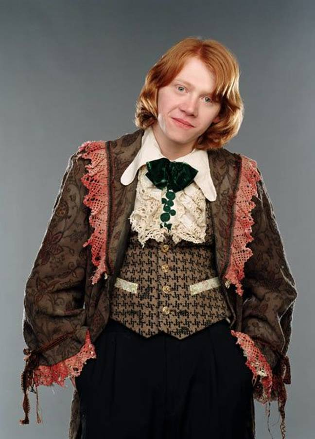 Ron's outfit will go down in Harry Potter history (Credit: Warner Bros)