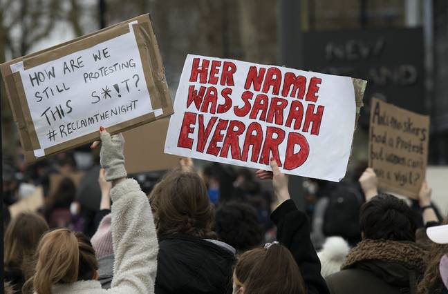 Sarah's murder has prompted a wave of protests (Credit: Shutterstock)
