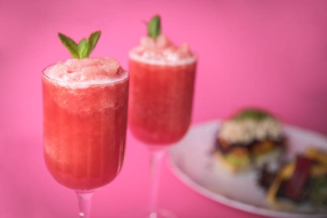 The Frosé Royale Brunch is back! (Credit: The Perception Bar/W London)