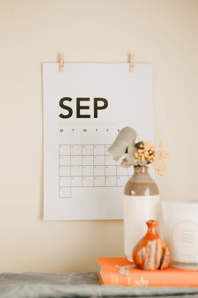 September usually feels like a fresh start (Credit: Unsplash)