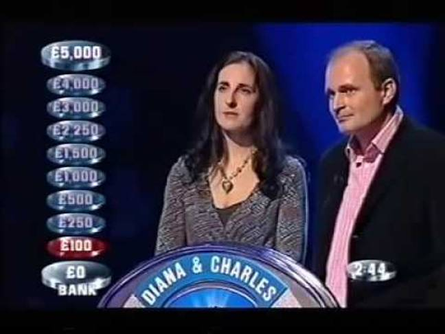 Charles and Diana Ingram stood trial for conspiring by coughing to signal the correct answers on the TV quiz show (Credit: ITV)