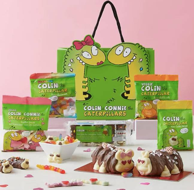 The Colin and Connie gift bag is really pushing the boat out (Credit: M&S)