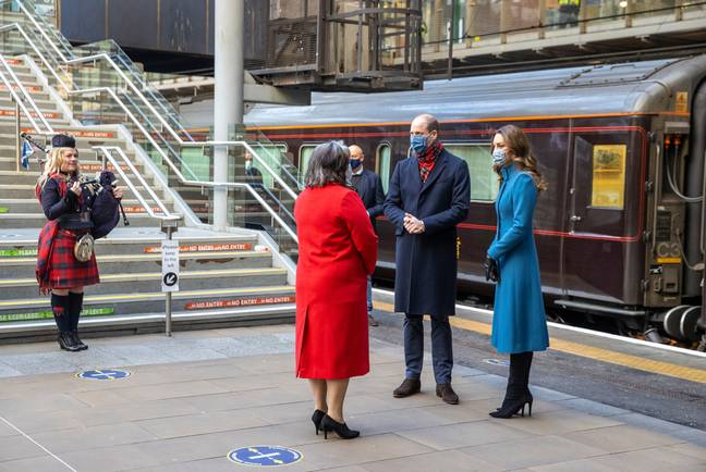 Prince William and Kate Middleton embarked upon a 1,250 mile train tour of the UK at the start of December (Credit: Shutterstock)