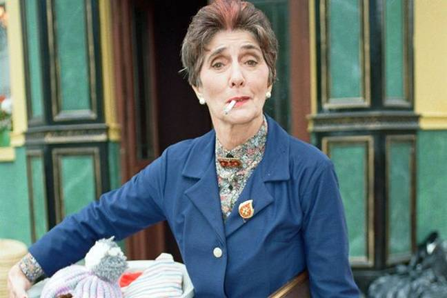 Dot Cotton first appeared as mother to Nasty Nick (Credit: BBC)