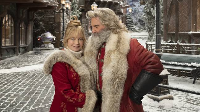 Starring in the sequel will be Kurt Russell and real-life partner Goldie Hawn (Credit: Netflix)