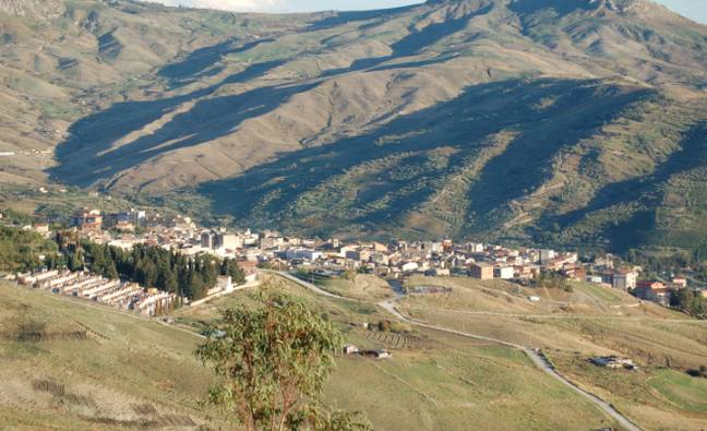 Bovina is nestled in the heart of Sicilian countryside (Credit: Wikimedia)