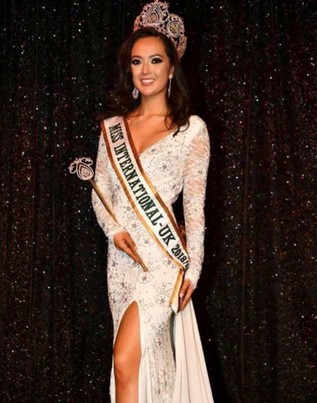 Sharon Gaffka is a Miss International winner (Credit: Instagram/sharongaffka)