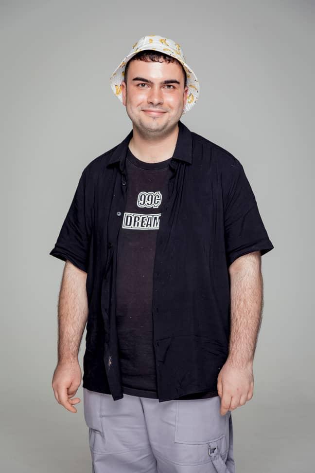 Bernie, 22, Retail Assistant (Credit: BBC)