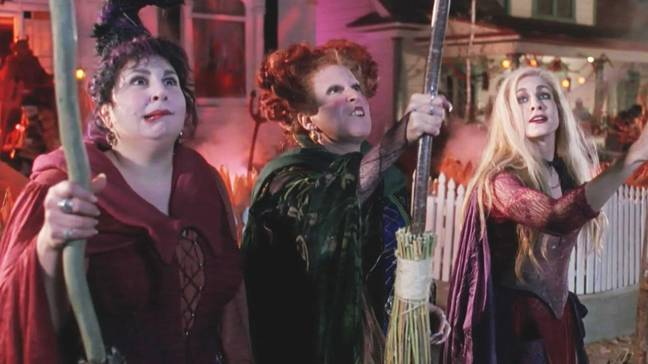 The Sanderson sisters will be back together this Halloween - but virtually! (Credit: Disney)