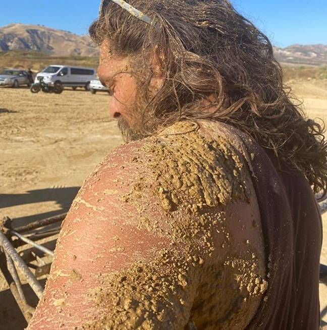 The man was literally caked (Credit: @prideofgypsies)