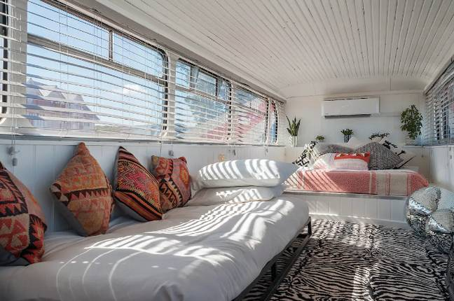 The bedroom has some Zigga Zig-a touches (Credit: Airbnb)
