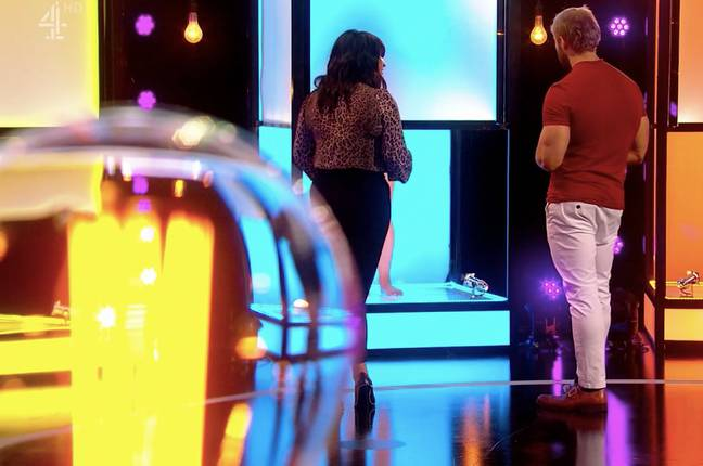 Tansel and Anna discussed their preferences (Credit: Channel 4)