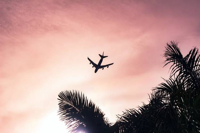 We're getting the first flight out of here... (Credit: Unsplash)