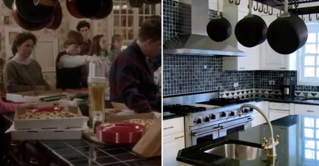 The kitchen has had a refurbishment (Credit: Marissa Hopkins/Disney)