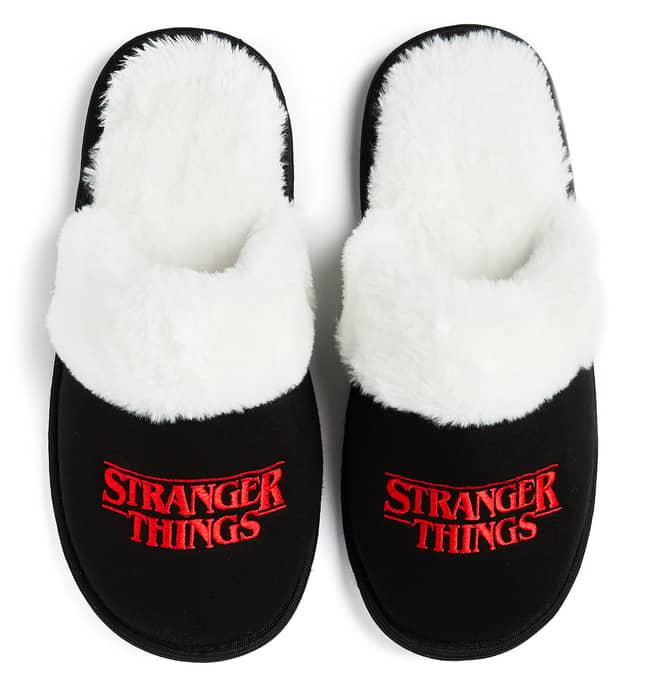 Stranger Things fluffy slippers, £5 (Credit: Primark)