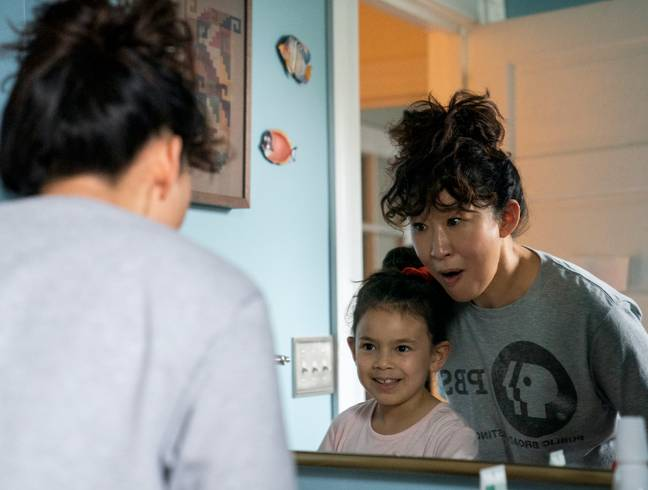First look at Sandra Oh in the new comedy (Credit: Netflix)