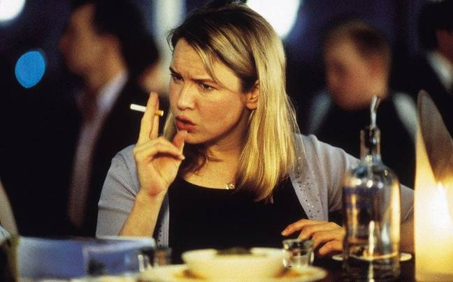 Bridget's smoking and drinking was linked to her perpetual single status (Credit: Universal)