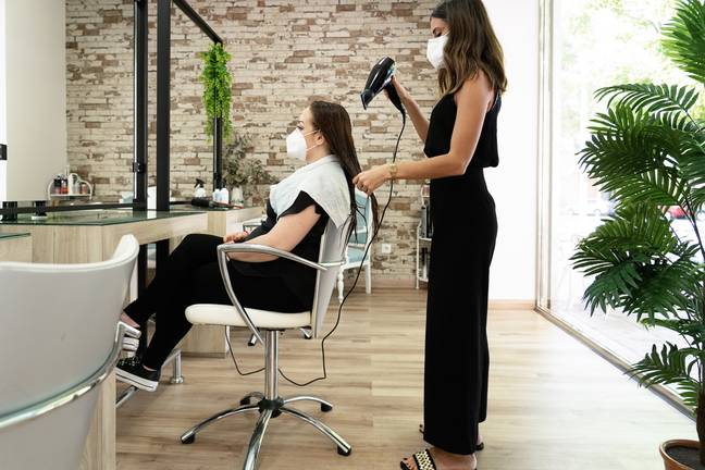 Salons were forced to close in March last year (Credit: Shutterstock)