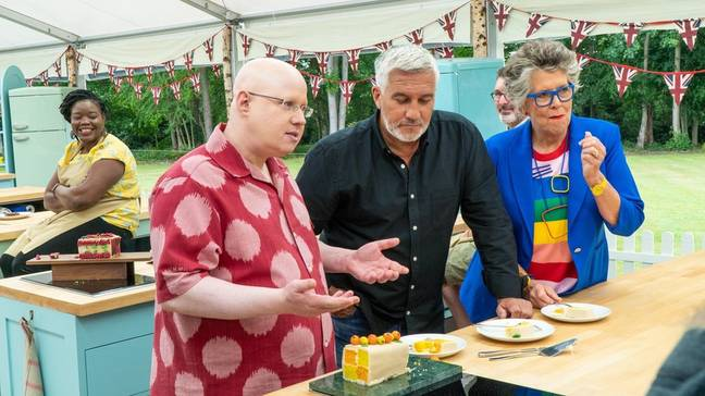 Matt Lucas joined Bake Off this season (Credit: Channel 4)