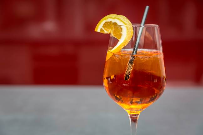Who doesn't love an Aperol on a hot day? (Credit: M&S)