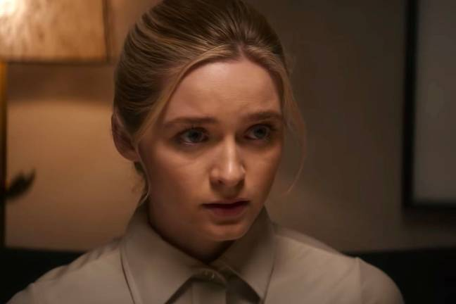 Deadly Illusions raises questions over who Grace really is (Credit: Netflix)