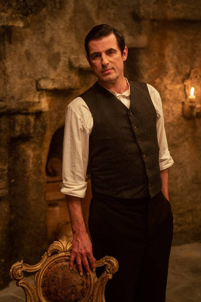 """Claes said he's """"so excited"""" to play the iconic vampire.(Credit: BBC)"""