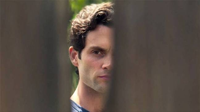 Finally we know who Joe was peeping at through the fence (Credit: Netflix)