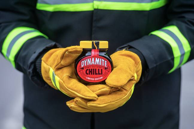 Is chilli Marmite too hot to handle? (Credit: Marmite)