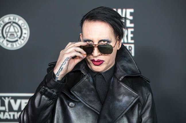 Marilyn Manson made the shocking claims in his autobiography (Credit: PA Images)