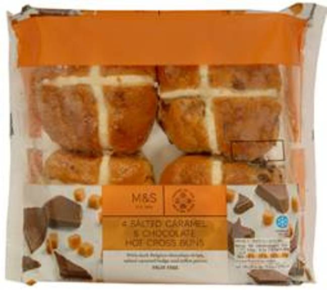 You can also buy a salted caramel version (Credit: M&S)