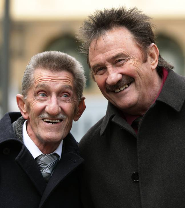 Sophie and Pete are related to the Chuckle brothers (Credit: PA)