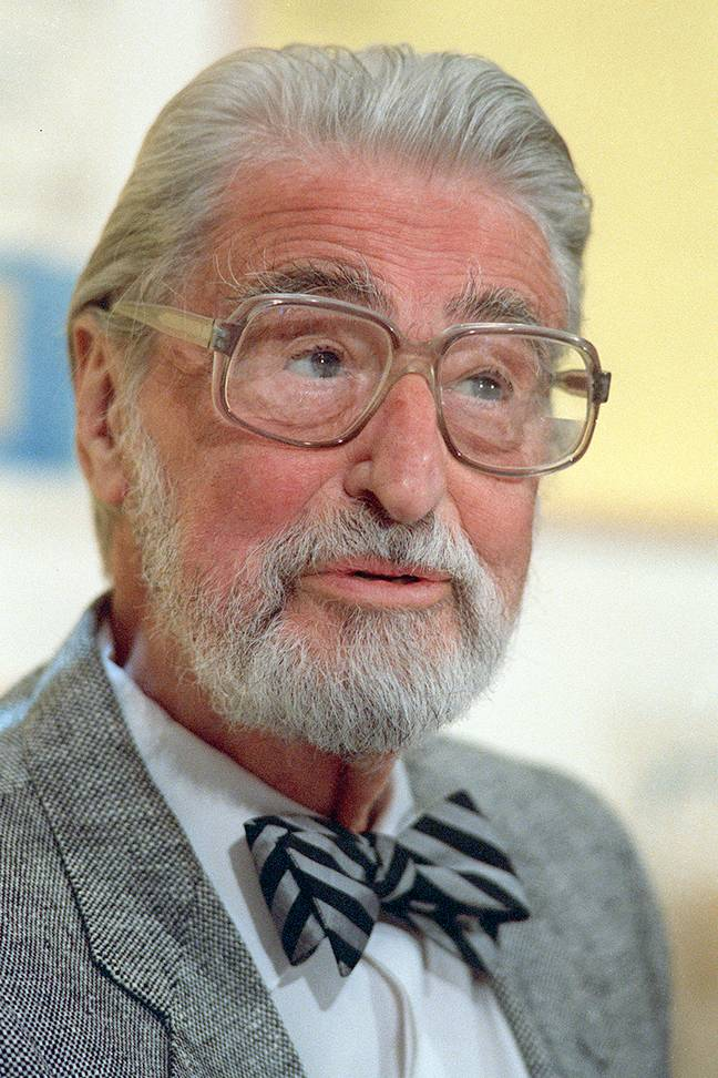 Dr. Seuss - pictured here in 1987 - passed away in 1991 (Credit: PA)